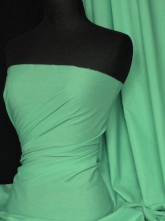 Poly Cotton Material- Marine Green Q460 MGRN