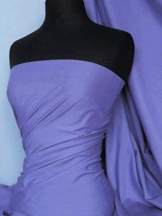 Poly Cotton Material- Parma Violet Q460 PVLT