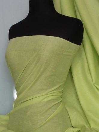 Poly Cotton Material- Pistachio Q460 PISTA