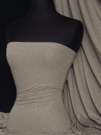 100% Viscose Stretch Fabric Material- Cloud Grey 100VSC CGR