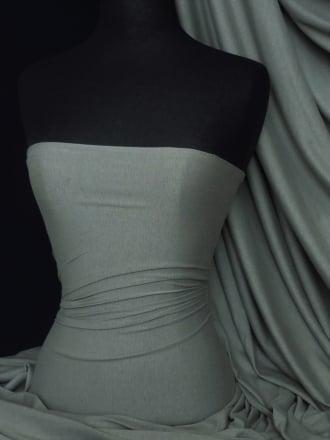 100% Viscose Stretch Fabric Material- Steel Grey 100VSC STGR