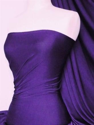 Lucci Fog Foil Stretch Jersey Fabric- Fantasia Purple Q926 FPPL