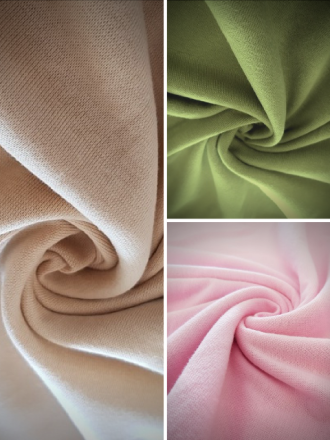 Clearance Heavy-Weight 100% Cotton Interlock Jersey Fabric- SQ238