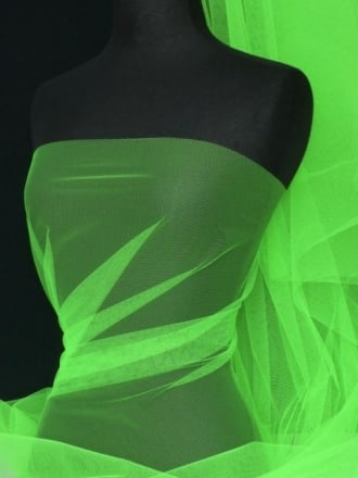Tutu Fancy Dress Net Material- Lime Green Q174 LMGR