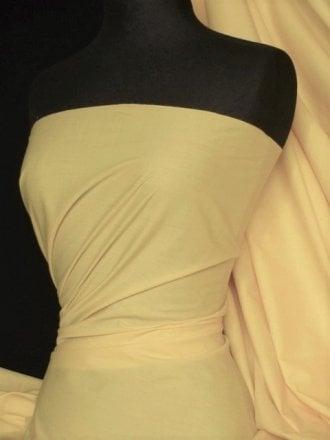 Poly Cotton Material- Pastel Yellow Q460 PSYL