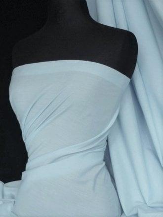 Poly Cotton Material- Pastel Blue Q460 PSBL