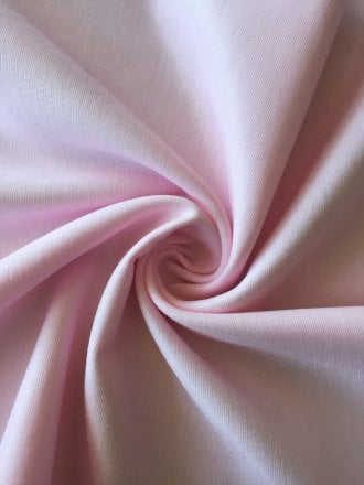 Nylon Lycra Stretch Fabric- Milkshake Pink SQ256 MKPN