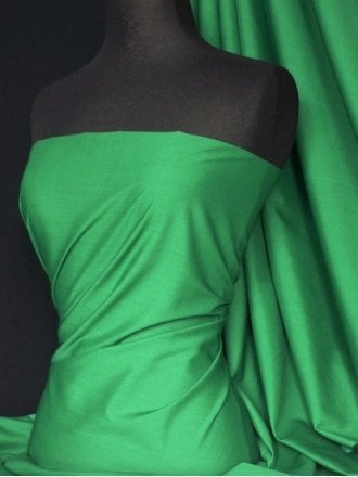 Poly Cotton Material- Emerald Q460 EMGR