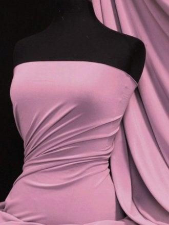 Micro Lycra 4 Way Stretch Fabric - Pale Lilac Q259 PLLC