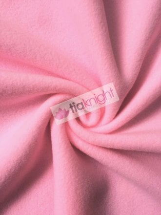 Anti-Pill Polar Fleece Soft Cuddly Washable Fabric- Rose Pink PF-NEW RSPN