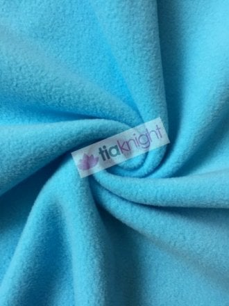 Anti-Pill Polar Fleece Soft Cuddly Washable Fabric- Turquoise PF-NEW TQ