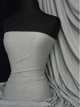 Single Jersey Knit 100% Light Cotton T-Shirt Fabric- Cloud Grey Q1249 CGR
