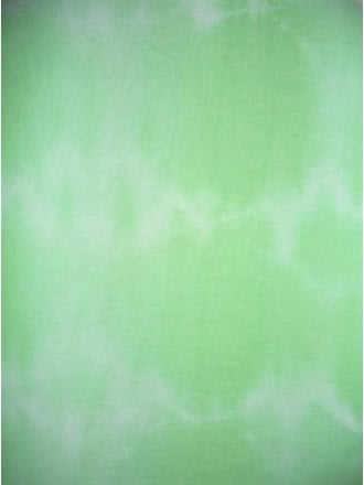 100% Viscose Tie Dye Stretch Fabric- Soft Mint Q1345 SMNT