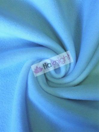 Anti-Pill Polar Fleece Soft Cuddly Washable Fabric- Baby Blue PF-NEW BBL