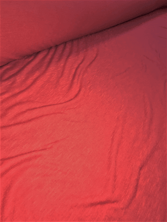20 METRES 100% SLB Viscose Stretch Fabric Wholesale Roll- Red JBL124 RD