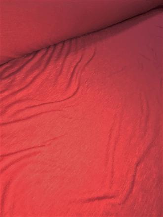 20 METRES 100% SLB Viscose Stretch Fabric Job Lot Bolt- Red JBL124 RD