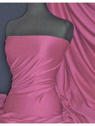 Clearance Ponte Double Knit Stretch Jersey Fabric- Dusk Rose Q37 DRS