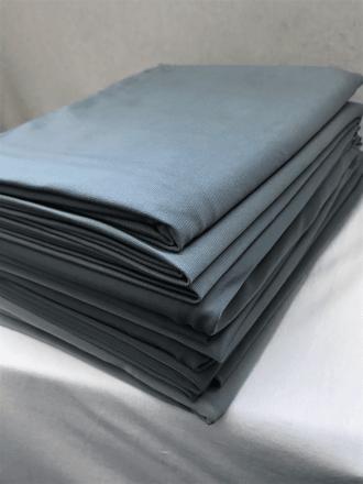 10 PIECES Clearance (1/2 Metre) Silk Touch 4 Way Stretch Lycra Fabric Job Lot Bundle- Dark Grey JBL131 DKGR