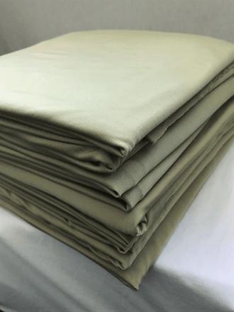 10 PIECES Clearance (1/2 Metre) Silk Touch 4 Way Stretch Lycra Fabric Job Lot Bundle- Light Olive JBL130 LTOLV