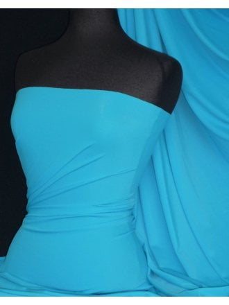 Matt Lycra 4 Way Stretch Fabric- Dark Turquoise Q56 DKTQS