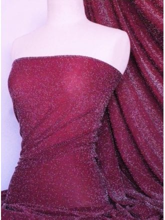 Slinky Shimmer 4 Way Stretch Fabric- Fuchsia Pink Q1183 FCH