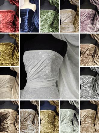 Crushed Glitz Velour/Velvet Woven Interior Fabric- SQ269