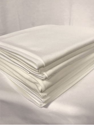 10 PIECES Clearance (1/2 Metre) Soft Touch 4 Way Stretch Lycra Fabric Job Lot Bundle- Ivory JBL163 IV