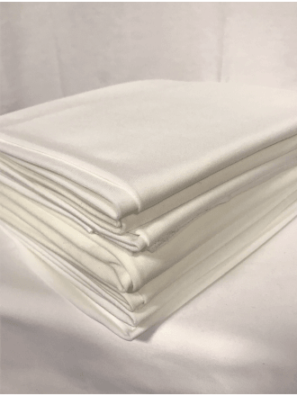 10 PIECES Clearance (1/2 Metre) Soft Touch 4 Way Stretch Lycra Fabric Job Lot Bundle- Ivory JBL164 IV