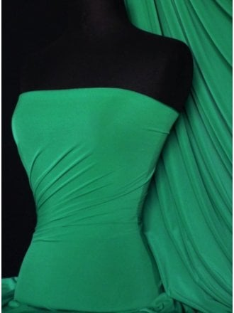 Silk Touch 4 Way Stretch Lycra Fabric- Jade Q53 JD