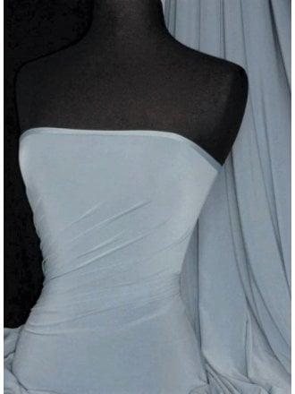 Silk Touch 4 Way Stretch Lycra Fabric- Powder Blue Q53 PBL