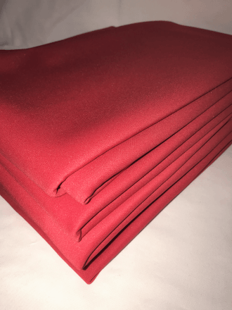 7 PIECES Clearance (1/2 Metre) Scuba Stretch Poly Lycra Fabric Job Lot Bundle- Red JBL197 RD