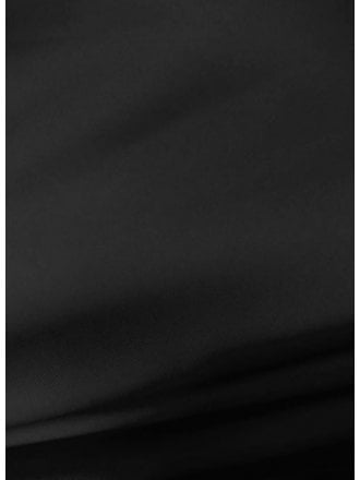 20 METRES 100% Polyester Stretch Fabric Wholesale Roll- Black JBL220 BK
