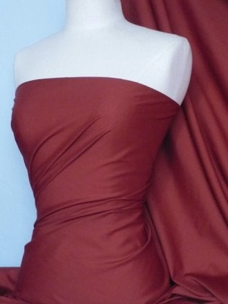 Poly Cotton Material- Claret Q460 CLT