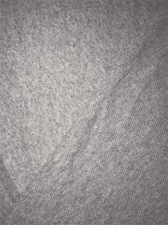 Sweatshirt Fleece (189 cms) Loop Back Stretch Cotton Material- Grey SQ151 GR