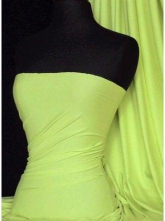 Heavy Viscose Cotton Stretch Lycra Fabric- Light Pistachio Q896 LTPIST