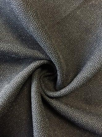 20 METRES 100% Polyester Textured Sheer Lightweight Fabric Wholesale Roll- Black JBL266 BRN