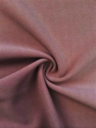 Scuba Stretch Poly Lycra Fabric- Rosewood Q792 RSWD