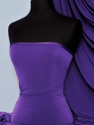 Silk Touch 4 Way Stretch Lycra Fabric- Violet Q53 VLT