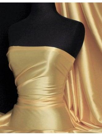 Super Soft Satin Fabric- Lemon Q710 LMN