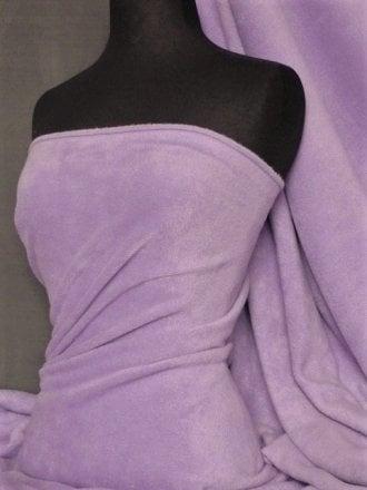 Polar Fleece Anti Pill Washable Soft Fabric- Lilac PF LIL