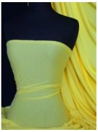 Single Jersey Knit 100% Light Cotton T-Shirt Fabric- Yellow Q1249 YL