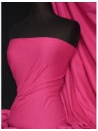 Single Jersey Knit 100% Light Cotton T-Shirt Fabric- Fuchsia Q1249 FCH