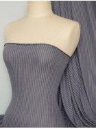 100% Viscose Stretch Fabric Material- Stripe Denim Blue Q240 DBL