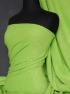 Polar Fleece Anti Pill Washable Soft Fabric- Lime Green PF LMGR