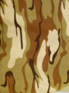 Polar Fleece Anti Pill Washable Soft Fabric- Desert Camouflage Q817 DSRT