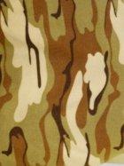 Polar Fleece Anti Pill Washable Soft Fabric- Desert Camouflage Q817 DSRT