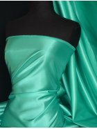 Acetate Satin Fabric Material- Aqua Blue Q824 AQBL