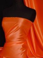 Acetate Satin Fabric Material- Marigold Q824 MRGLD