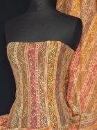 Lace Space Dye Stretch Fabric- Orange Q167 OR