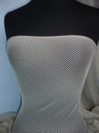 Diamond Fishnet 4 Way Stretch Material- Stone Q780 STN
